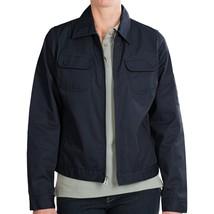 Dickies Women's Heritage Jacket L Dark Navy Blue Cotton Poly Twill Work ... - $23.71