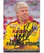 1998 BOBBY HAMILTON WHEELS TRADING CARD #13 AUTOGRAPHED - $8.75
