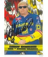 2001 BOBBY HAMILTON PRESS PASS VIP 01 TRADING CARD #32 AUTOGRAPHED - $8.75