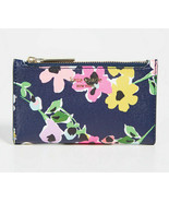Kate Spade sylvia wildflower bouquet small slim bifold wallet Card Case ... - $67.32