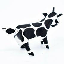 Handmade Alebrijes Oaxacan Wood Carved Painted Folk Art Cow Miniature Figure image 4