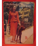 Vintage 1948 Australian Womens Weekly Knitting Patterns ADULTS BABIES CH... - $14.99