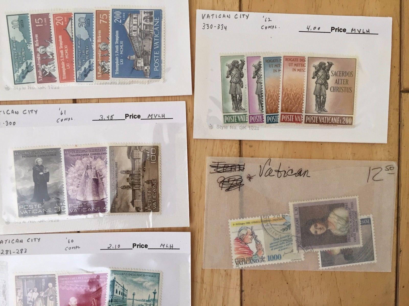 H10  Vatican City c13 c14 182 192 216  229 275 281 298 304 330 Stamps Boniface