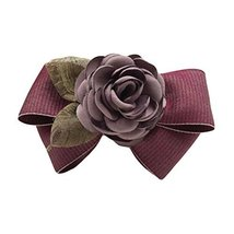 Cloth Rose Hair Bow Hair Pin Handmade French Barrette Hair Barrettes Bowknot