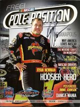 2010 RACING MAGAZINE RYAN NEWMAN ON THE COVER SIGNED - $50.00