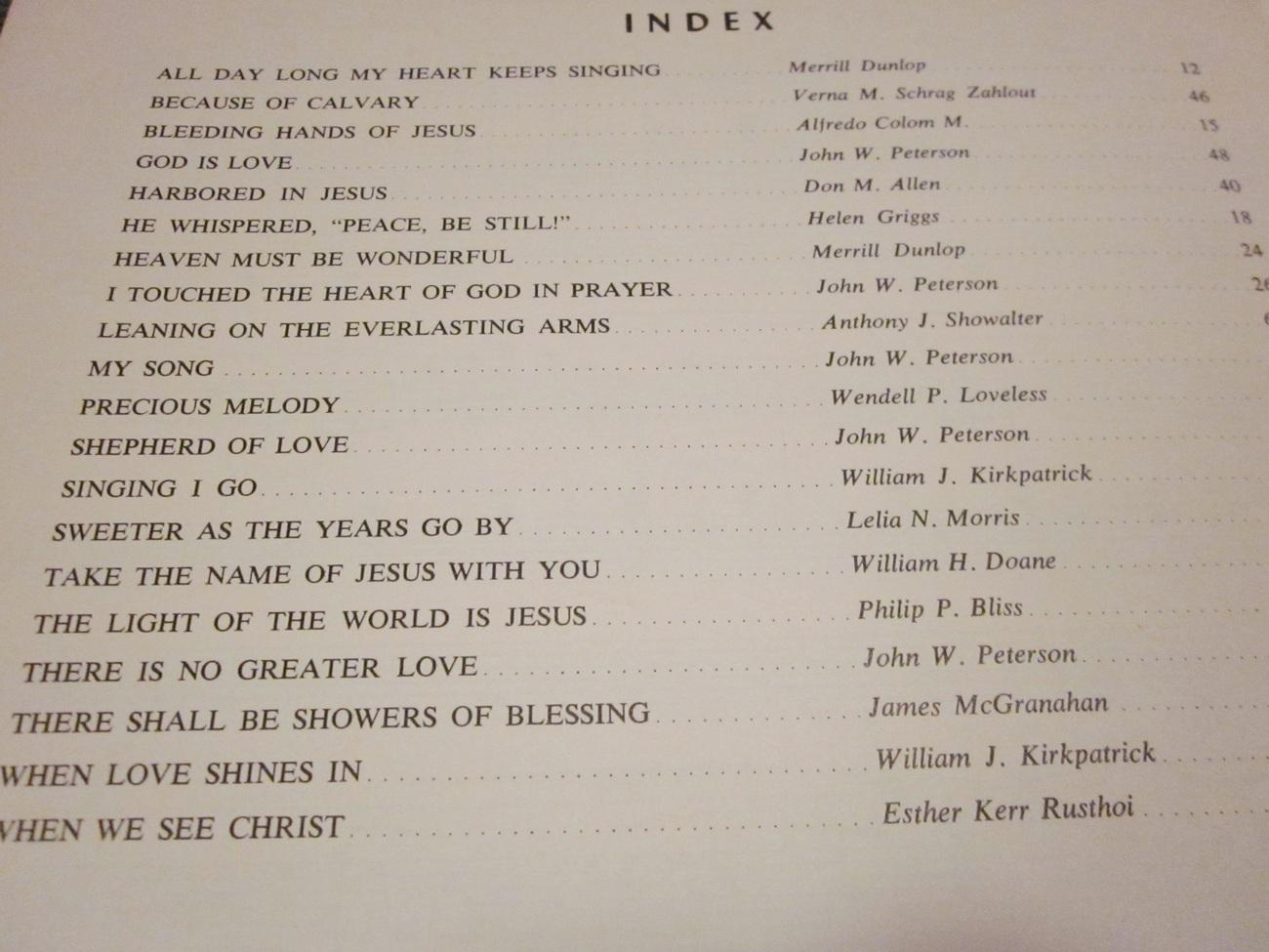 The Gospel Organist by Harold De Cou Volume Four