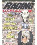 FEBRUARY 2005 RACING MILESTONES MAGAZINE KURT BUSCH ON THE COVER SIGNED - $40.00