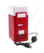 USB Mini Cooler & Warmer Fridge Refrigerator CAN Drink  - $28.90
