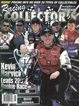 2001 RACING MAGAZINE KEVIN HARVICK ON THE COVER SIGNED - $40.00