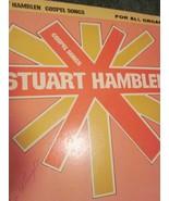 Stuart Hamblen Gospel Songs For All Organs Book 1968 - $16.99