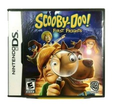 Scooby-Doo! First Frights Nintendo DS 2009 Warner Bros Games E10+ NTR-CQ... - $14.54