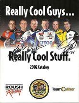 2002 ROUSH RACING GEAR CATALOG MARK MARTIN, KURT BUSCH, & JON WOOD COVER... - $55.00