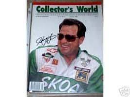 JANUARY 1994 COLLECTOR'S WORLD RACING MAGAZINE HARRY GANT COVER SIGNED - $40.00