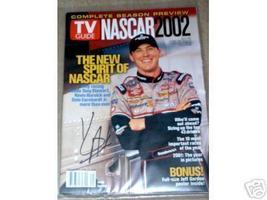 2002 TV GUIDE MAGAZINE (NASCAR 2002 SEASON PREVIEW) KEVIN HARVICK COVER ... - $40.00