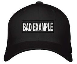 Bad Example Hat Style Cap Color Options (Black) - $17.05