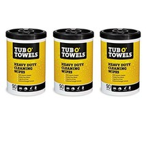 """Tub O Towels Heavy-Duty 10"""" x 12"""" Size Multi-Surface Cleaning Wipes, 90 Count Pe"""