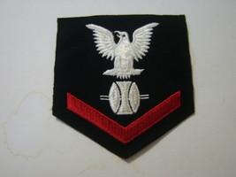 Opticalman Third Class Rating Badge - E4 Wool PRE-1960 Eagle Style #1 :KY20-2 - $8.00