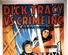 DICK TRACY VS, CRIME, INC., 15 CHAPTER SERIAL, 1941 - $19.99
