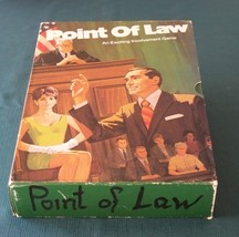 Point Of Law Legal Game by 3M 1972 Complete - $9.25
