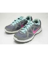 Nike Size 8 Gray Pink Running Shoes Women's - $28.00