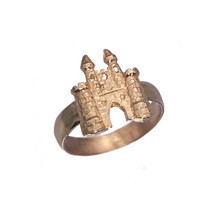 Fairy Tale medieval Rose Gold Plated King Castle Jewelry Ring pick your ... - $30.45