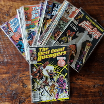 Marvel West Coast Avengers Comic Book Run 1-26 Nice Lot - $44.99
