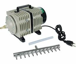 Hydrofarm Active Aqua Commercial Air Pump, 12 Outlets, 112W, 110-Lpm | AAPA110L - $120.12