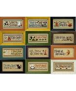 FULL BUNDLE Halloween Rules Double Flip 2011 (6 charts) cross stitch Liz... - $45.90