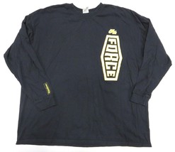 "NIKE AIR Revolution ""Force"" Long Sleeve Black Shirt Men's Size 3XL 100% ... - $79.15"
