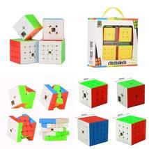 Roxenda Speed Cube Set, Magic Cube Set Of 2X2X2 3X3X3 4X4X4 5X5X5 Sticke... - $21.49