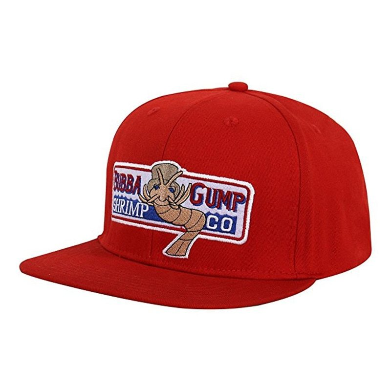 Primary image for VORON 1994 Bubba Gump Shrimp CO. Baseball Hat Forrest Gump Costume Cosplay Embro