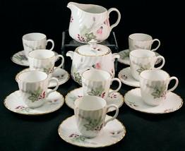 Bidasoa Espana Tea Set Creamer Sugar 8 Cups & Saucers for I. Magnin & Co. - $59.99