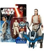 Star Wars The Force Awakens Rey Starkiller Base Action Figure by Hasbro ... - $19.79