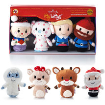 Hallmark Itty Bitty Bittys Rudolph the Red-Nosed Reindeer Complete 8pc S... - $85.49
