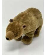 "BBC Planet Earth Series 2009 Plush Brown Grizzly Bear Stuffed Animal 11""... - $13.99"