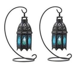 WEDDINGS!! 10 Sapphire Nights Candle Lantern Centerpieces - $149.95