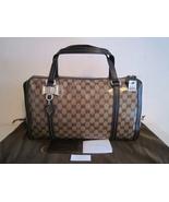 NWT $1190 Gucci Duchessa Crystal GG Beige/Ebony... - $799.00