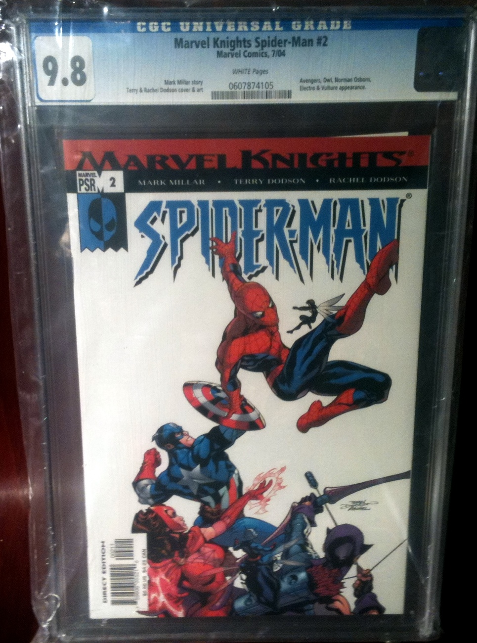 Marvel Knights Spider-Man # 2 CGC Graded 9.8 NM++