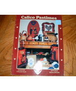 Calico Pastimes Country Collection Applique Needlework - $3.50