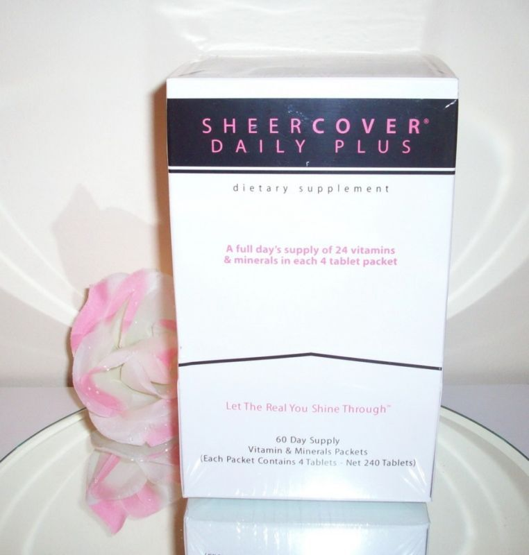 Sheer Cover Daily Plus Vitamins Dietary Supplement