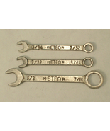 Small Meteor Brand Combination Wrenches  in 3 Sizes - $18.75