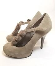 Gianni Bini Women's Suede Gray Pumps Shoes Size 8M - $13.56