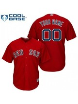 New Men's Boston Red Sox Custom NAME & NUMBER Cheap Red CB Jersey Stitched - $809,48 MXN
