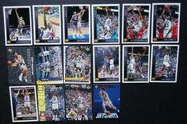 1993-94 Upper Deck Utah Jazz Team Set Of 16 Basketball Cards Missing #156 - $3.00