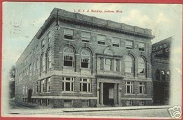 Jackson MI Postcard YMCA Building Michigan BJs - $6.00