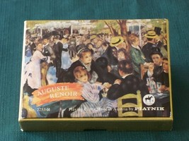 Piatnik Renoir Double Deck Playing Cards Austria  VGC - $13.00