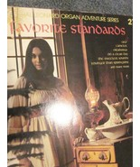 Hal Leonard Favorite Standards Organ Adventures No. 27 - 1982 - $9.00