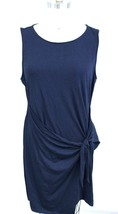 Tommy Hilfiger WOMEN'S  Tie-Detail Dress Navy Blue sz XL NWT Blue Hawaii - $39.00