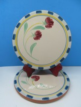 Lenox Poppies on Blue Terra Cotta Trivet bundle of 2 - $31.36