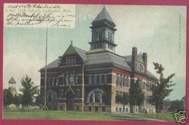 Ludington MI Postcard High School UDB Rotograph BJs - $7.50